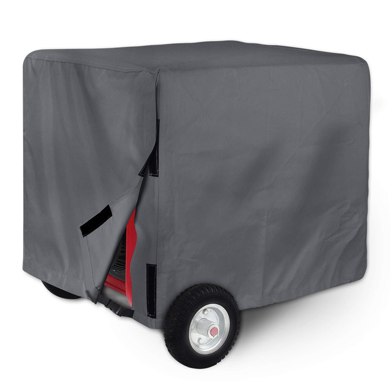 Leader Accessories Durable Universal Waterproof Generator Cover (31'' Lx 29'' Wx 28'' H, Dark Grey)