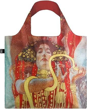 LOQI LQB1-MUGKHY Museum Shopping Bag, Hygieia, L Capacity