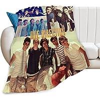 One Direction Blanket Manta de Franela Manta de Harry Syles Adecuado para niños Cama para Adultos Sofá Sofá Silla Hogar…