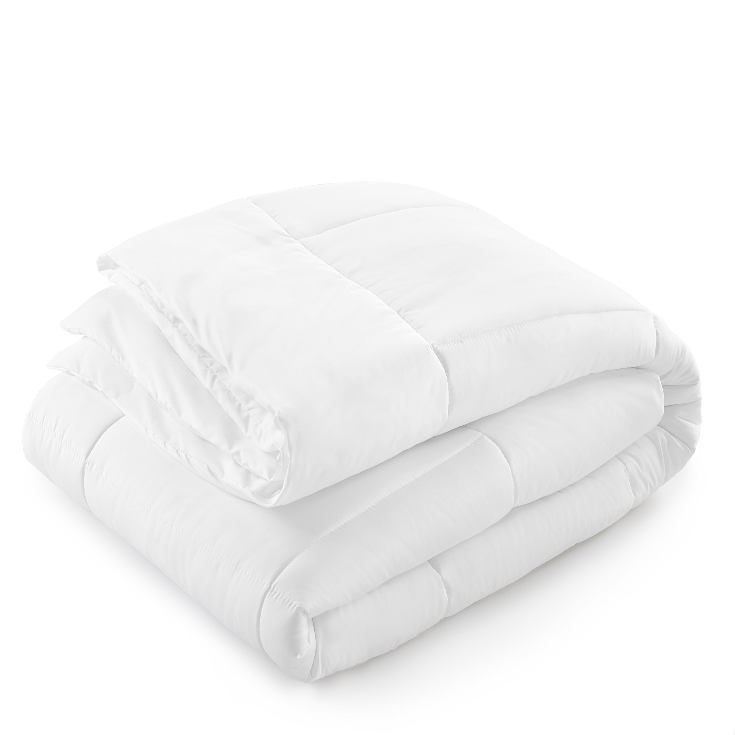Danjor Linens Luxury Soft All Season White Down Alternative Comforter- Hypoallergenic, Box Stitched- Plush Microfiber fill, Machine Washable, Duvet Insert Queen Size by Danjor Linens (Image #3)