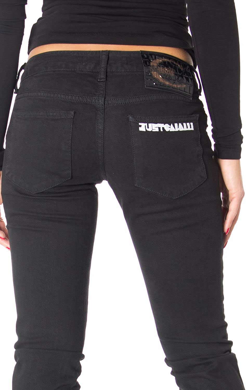Just Cavalli Women Jeans Low Waist Slim Jeans TO60VB 36551