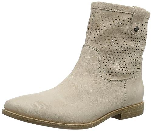 Geox D Elixir A, Botines Planos para Mujer, Beige (Skin), 35 EU: Amazon.es: Zapatos y complementos
