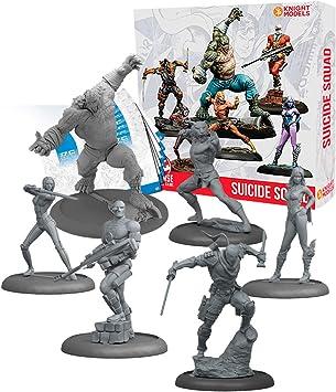 Knight Models Juego de Mesa - Miniaturas Resina DC Comics Superheroe - Batman Game Suicide Squad Box: Amazon.es: Juguetes y juegos