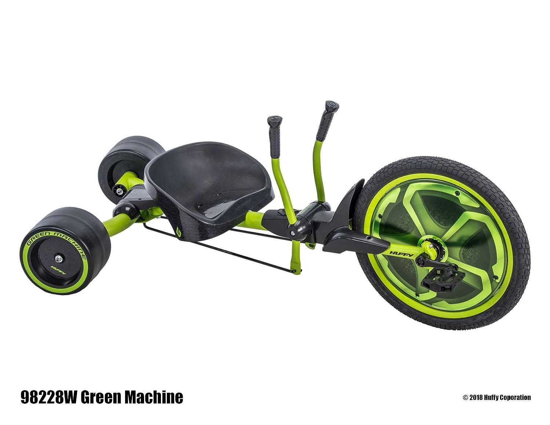 Huffy Green Machine 20 Pulgadas Drift Trike Triciclo + 8 Años Drifter Drift RUTSCHER Kart de los Estados Unidos: Amazon.es: Deportes y aire libre