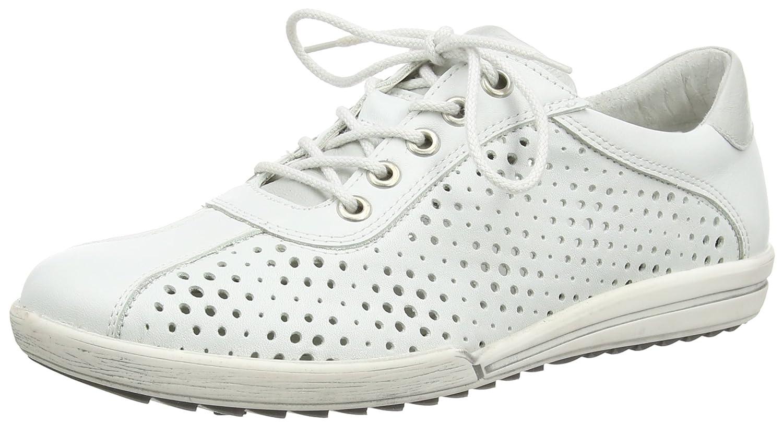 Josef Seibel Dany 49 - Zapatillas Mujer 38 EU|Blanco - Weiß (Weiß/Silber)