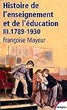 Histoire de l'enseignement et de l'éducation (3)