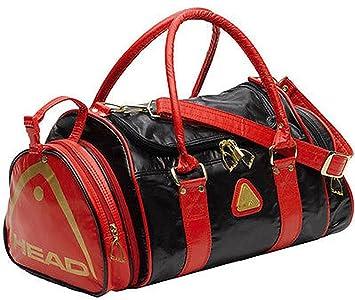 bf99faf88c8cc funkytravelbags Head St Tropez Retro Mediano Bolsa de deportes bolsa de  deporte negro rojo oro  Amazon.es  Deportes y aire libre