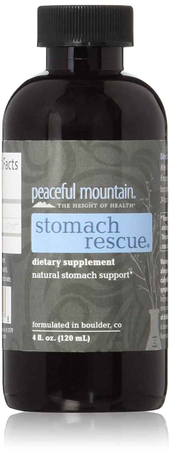 Amazon.com: Peaceful Mountain Digestión estómago Rescue 4 fl ...