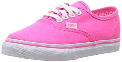 33e99a43e5639 Vans Girls Authentic Sneakers, Neon Splatter neon Pink/True White ...