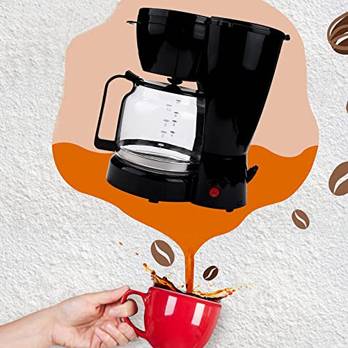 Ellymi 10-cup Coffee Maker,Drip Coffee Machine Anti-drip System