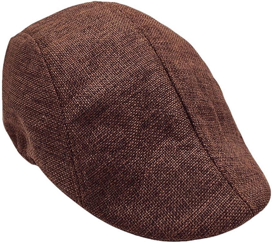 Dorical Sombrero de Boina Vaquera Gorra con Visera Casquillo ...