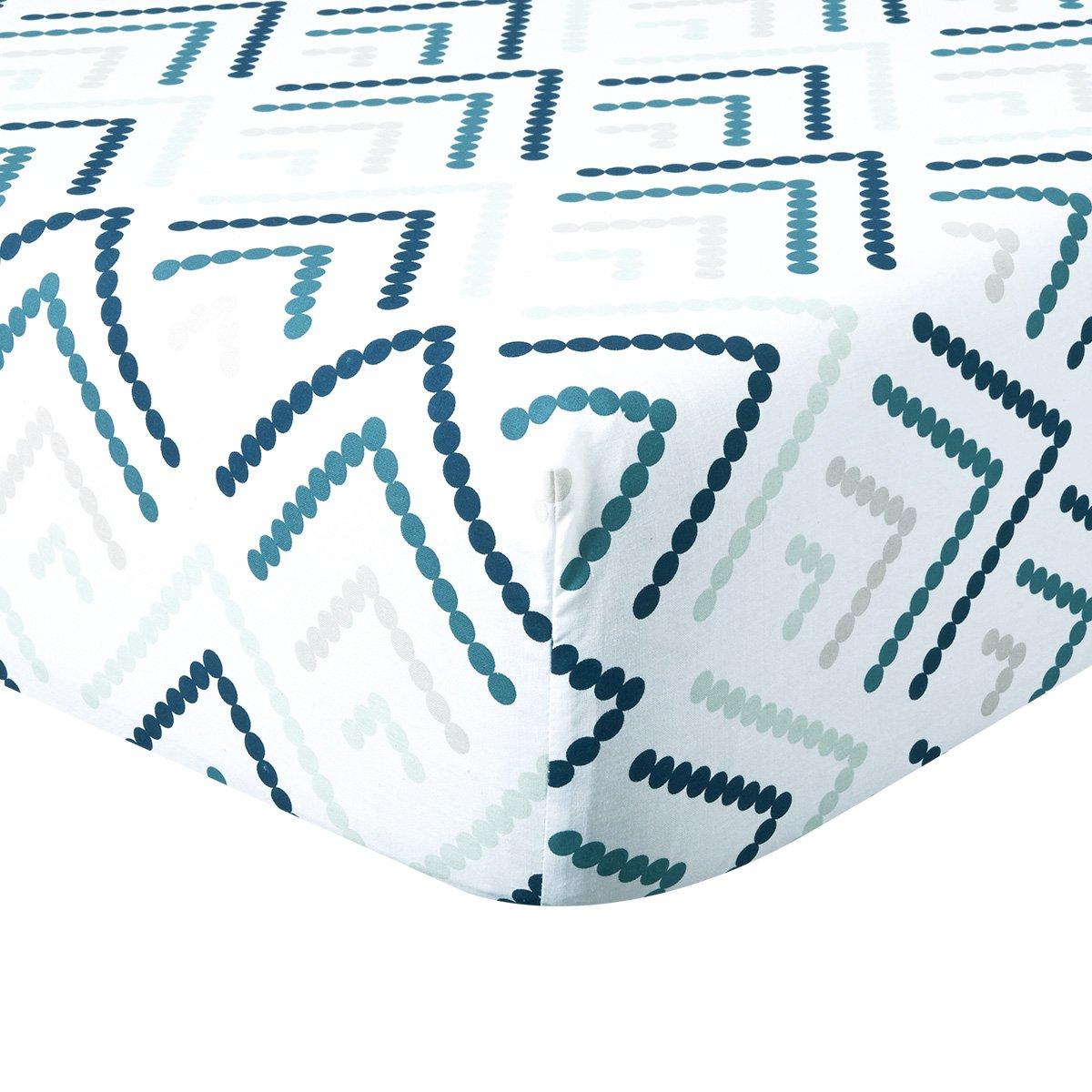 coton 57 fils Drap housse 90 x 190 cm Guillemet