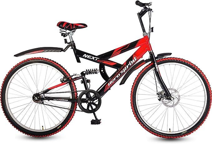 Hero Next 26T Single Speed Sprint Bike   Red   Black  18  Frame  Mountain Bikes