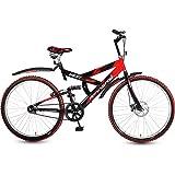"Hero Next 26T Single Speed Sprint Bike - Red & Black (18"" Frame)"