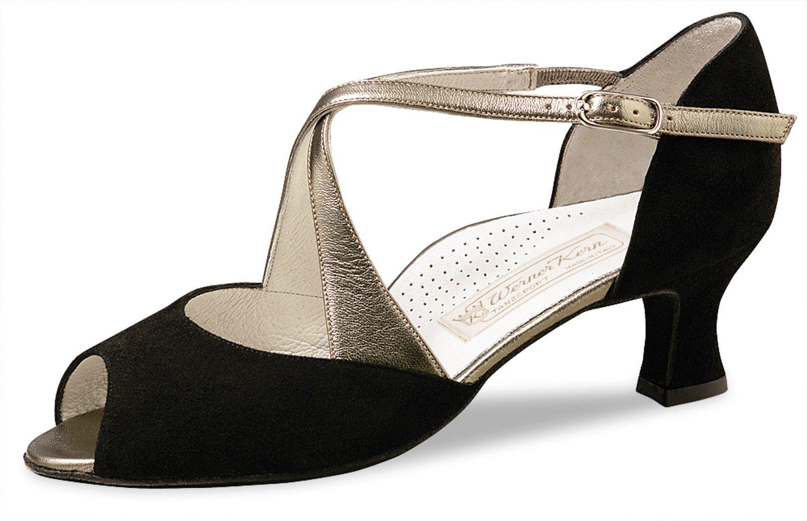 Werner Kern Women's Gaby - 2'' (5.0 cm) Latin Heel, Comfort Line, 8.5 M US (5.5 UK)