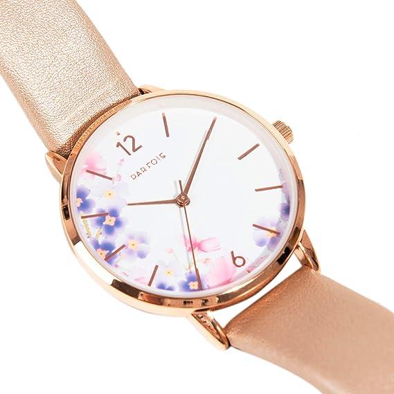 Parfois - Reloj Rose Gold - Mujeres - Tallas Única - Gris Pardo: Amazon.es: Relojes