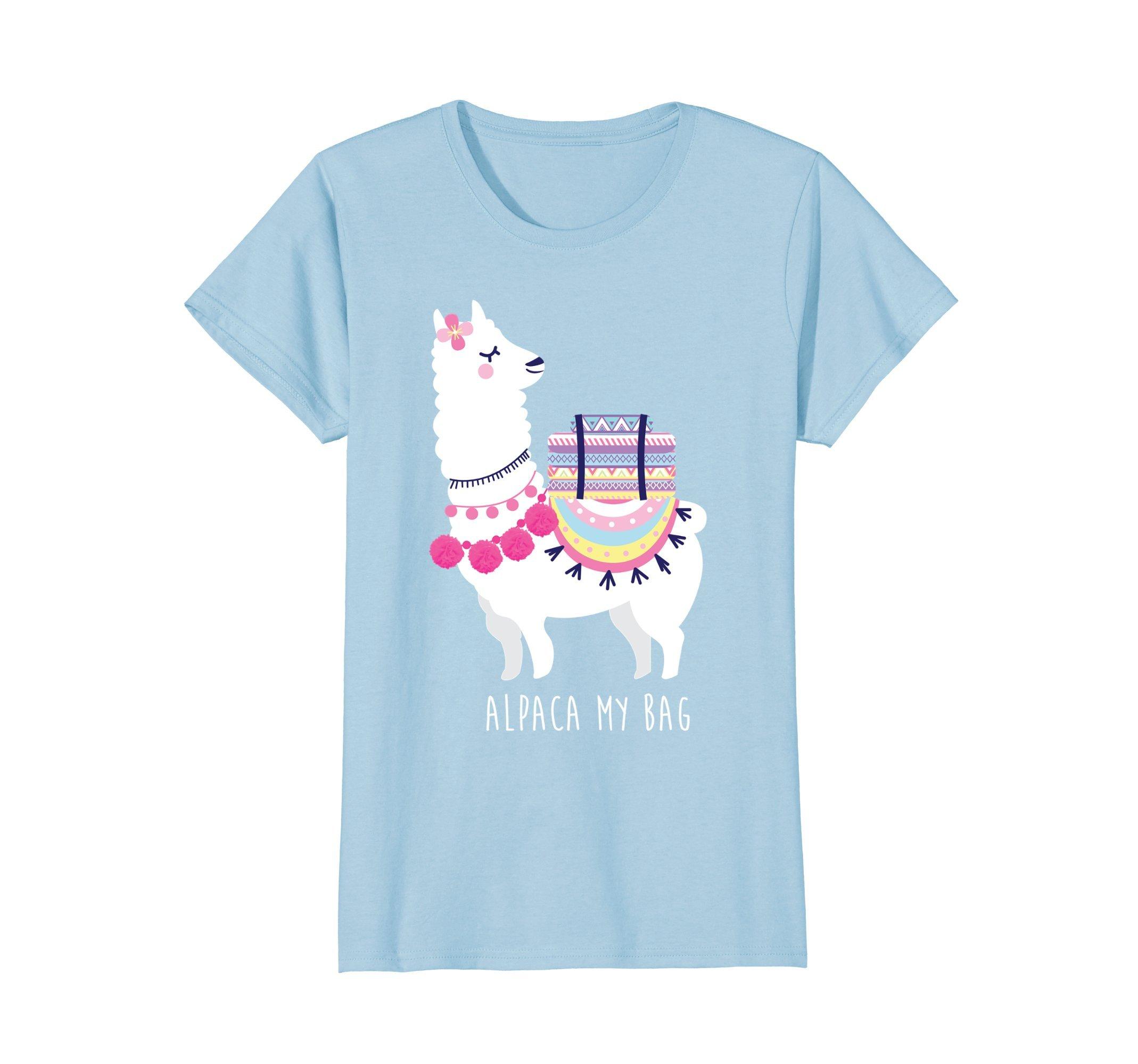 Alpaca My Bag Cute Humorous Girl's T-Shirt
