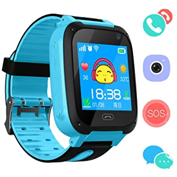 Reloj Niños Smart Watch Phone, LBS/GPS Tracker Smartwatch para ...