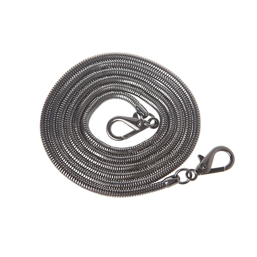 Bolso de Cuerpo Cruzado Bolso Bandolera Correa de Cadena Accesorios de Bolsa de reemplazo 120cm SimpleLife Cadena de Metal