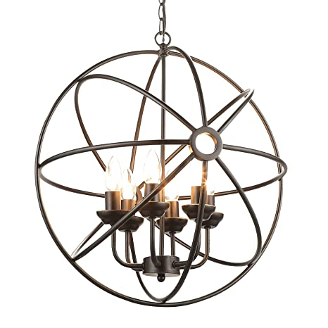 Co z 6 light oil rubbed bronze industrial chandelier six light co z 6 light oil rubbed bronze industrial chandelier six light rustic aloadofball Choice Image