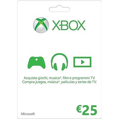 Microsoft - Xbox Live Tarjeta Regalo 25 Euro (Xbox)