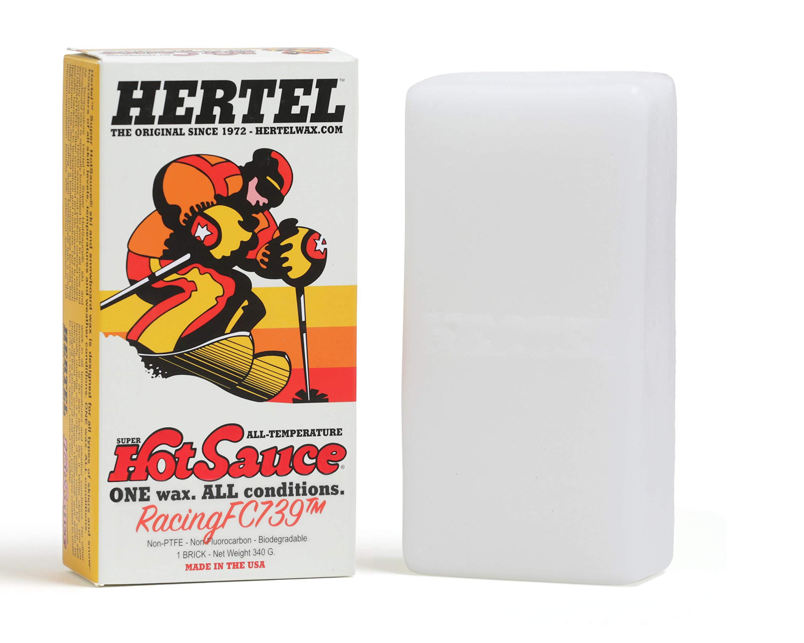 Hertel Wax Racing 739 All Temperature Ski/Snowboard Wax 340 Grams by Hertel Wax