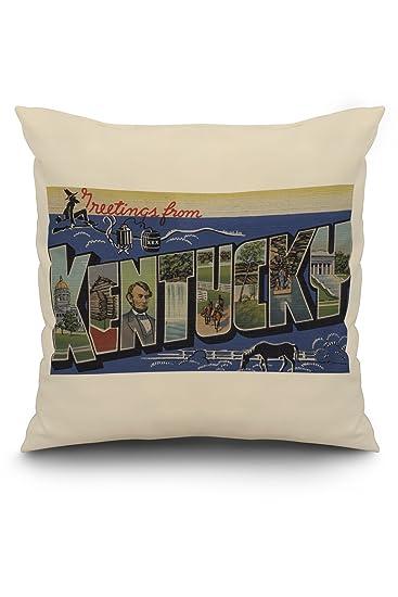 Amazon.com: Saludos desde Kentucky (Azul): Home & Kitchen