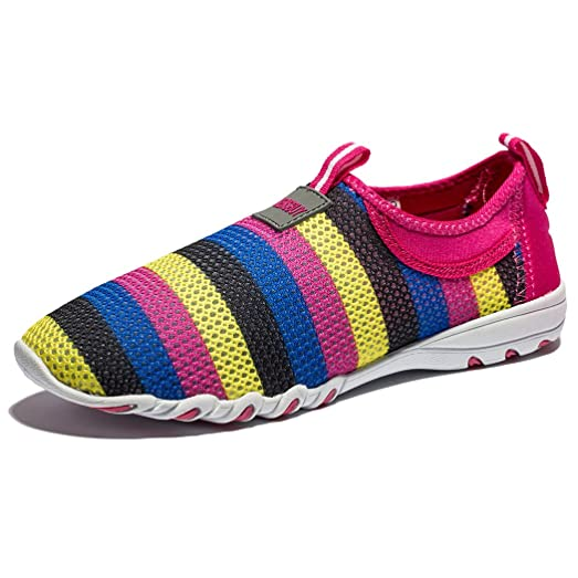 Women's Breathable Mesh Shoes Slip On Canvas Casual Shoes