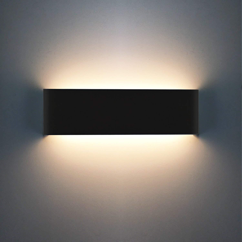 AC85-265V 10/×10/×5cm,Blanco C/álido XIARU-6W LED L/ámpara de pared Interior,Moderna Apliques de Pared,Moda Agradable Luz de Ambiente perfecto para L/ámpara de Decoraci/ón para