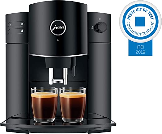 JURA D4 Piano Black Independiente Máquina espresso 1,9 L ...