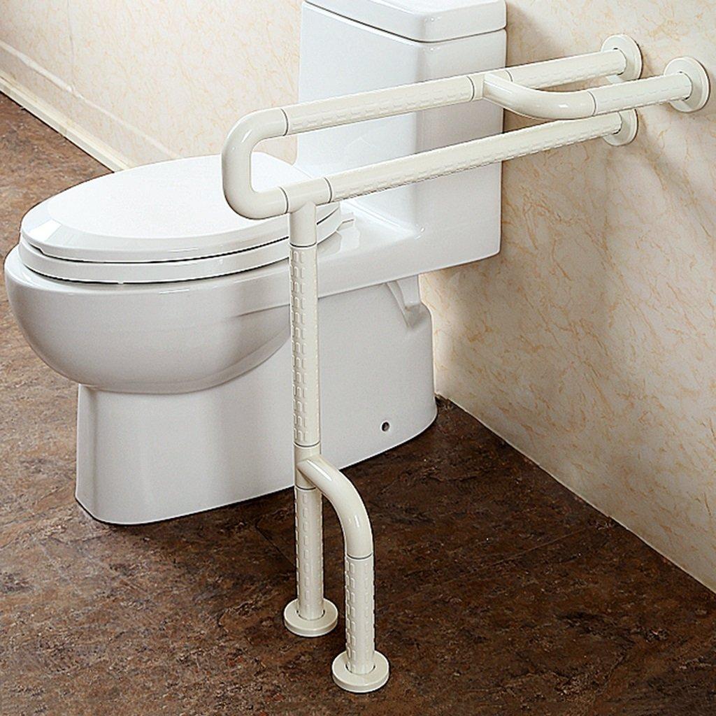 Mjb Accessibilità per Il Bagno Corrimano di Sicurezza Accessibilità per WC Maniglia Anti-Scivolo WC per disabili (Colore   giallo)