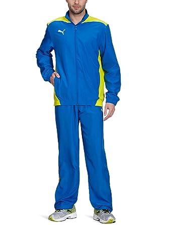 Puma - Chándal de fútbol Sala para Hombre, tamaño M, Color Azul ...