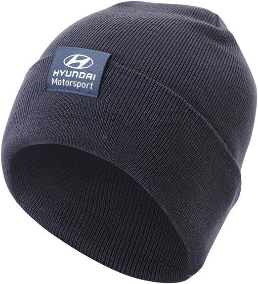 Hyundai Ventilador de Gorro de Punto WRC Rally Motorsport Headwear: Amazon.es: Deportes y aire libre