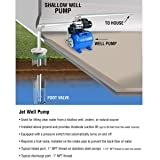 "3/4 HP 1"" Cast Iron Shallow Well Water Jet Pump"
