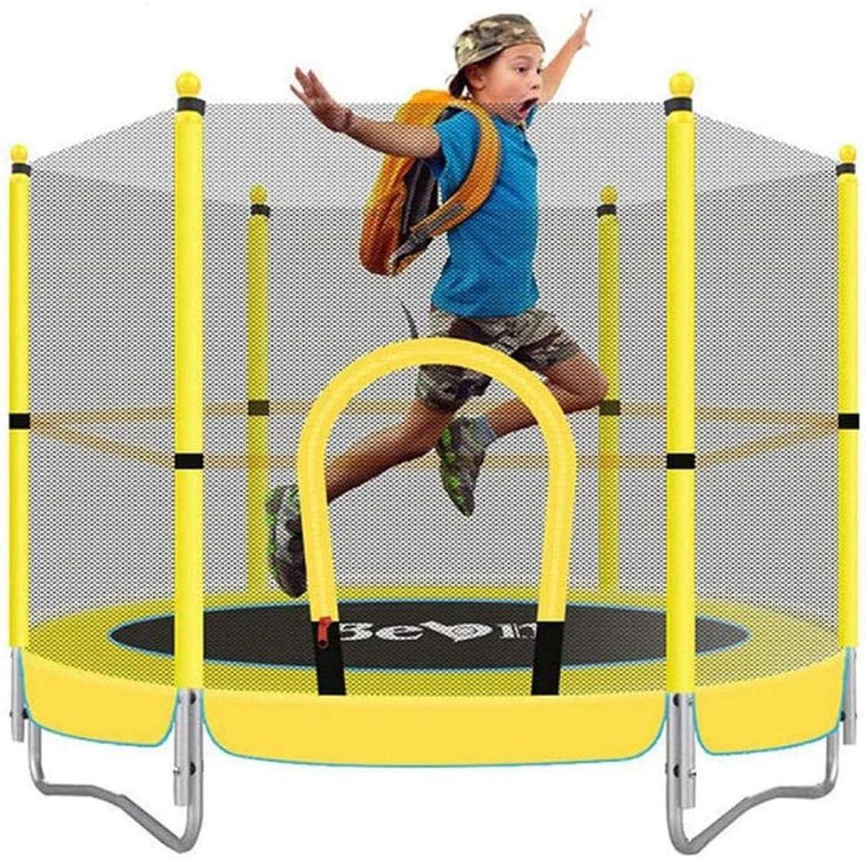 REDM 5 FT niños Trampolín, Primavera de Salto de Cama, con recinto Neto de Salto Mat Y Resorte Cubierta Relleno, Juguete de la educación del bebé Juguetes y Juegos Infantiles