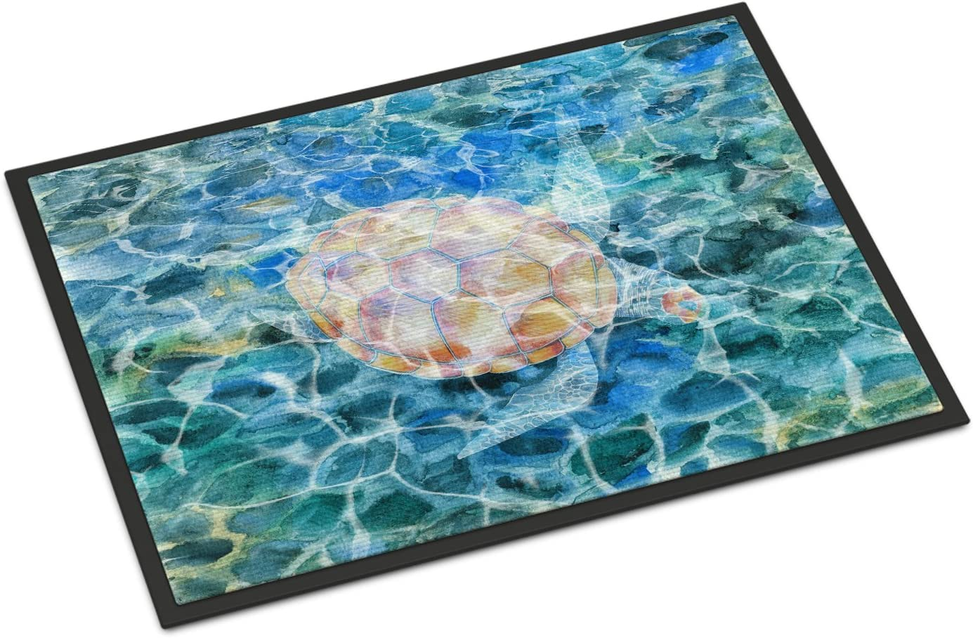 Caroline s Treasures BB5363JMAT Sea Turtle Under Water Indoor or Outdoor Mat 24×36, 24H X 36W, Multicolor