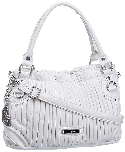 20d2993cab Axel David Women s Swirl Shopper Hand Bag White  Amazon.co.uk  Shoes ...