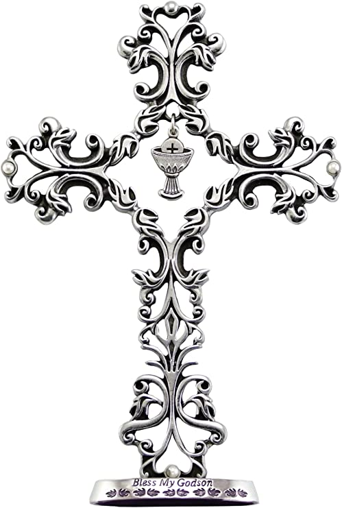 Cathedral Art QP00004 Godson Communion Cross 5-Inch