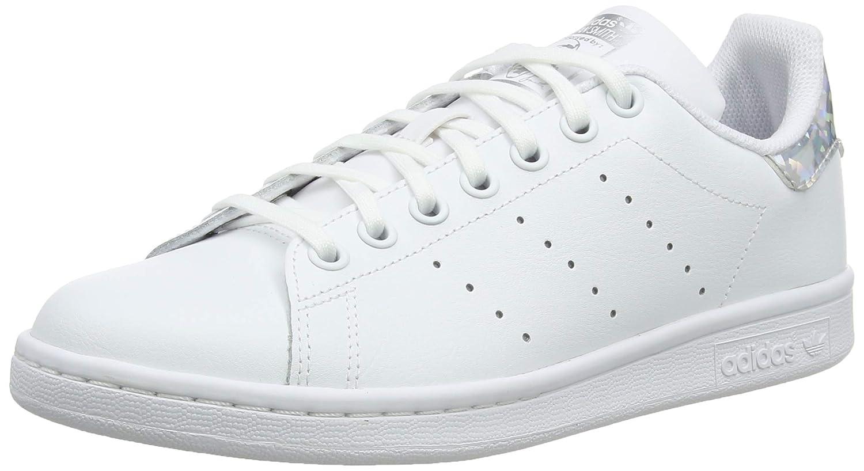 premium selection 1860d d24c7 Amazon.com   adidas Originals Stan Smith J White/Silver ...