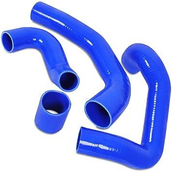 Silicona Motor Turbo Boost manguera de tubo Kit