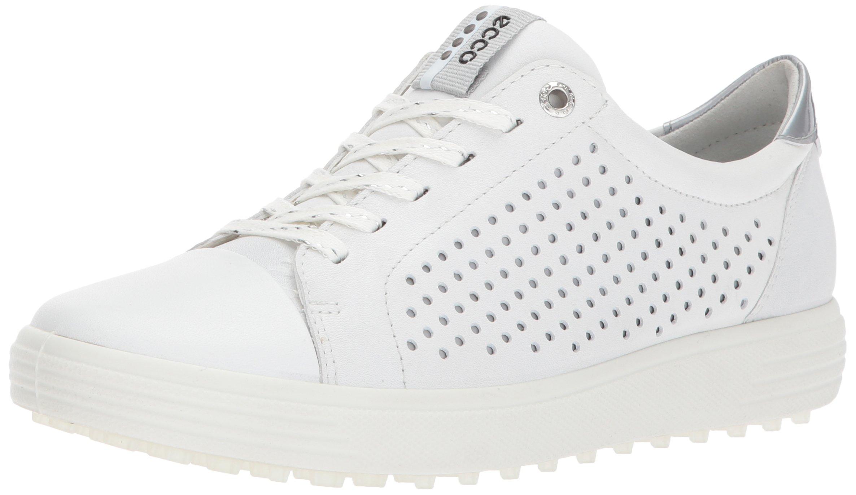 ECCO Women's Casual Hybrid Perforated Golf Shoe, White, 36 EU/5-5.5 M US