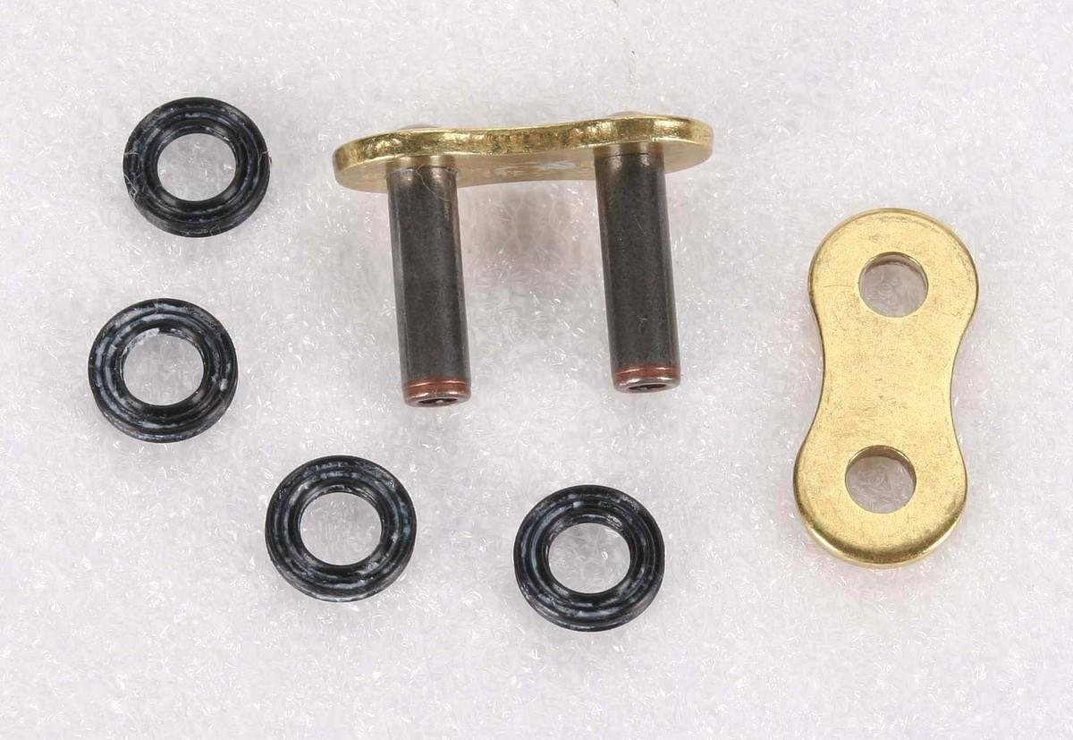 D.I.D Rivet Connecting Link for 525 Pro-Street VX Series X-Ring Chain Gold ZJ525VXG