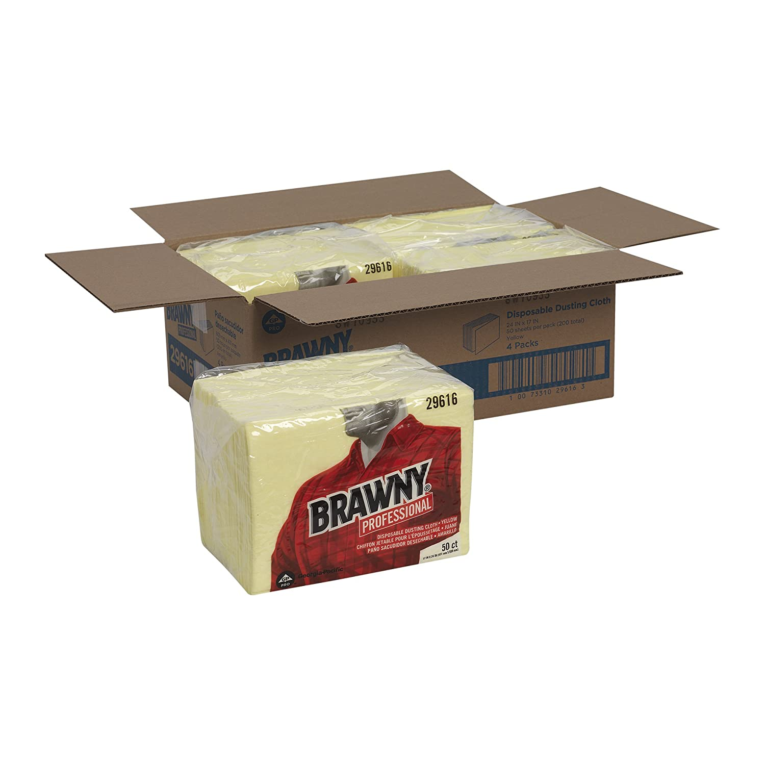 dusting furniture. GP PRO Brawny Professional Disposable Dusting Cloth, 17\ Furniture