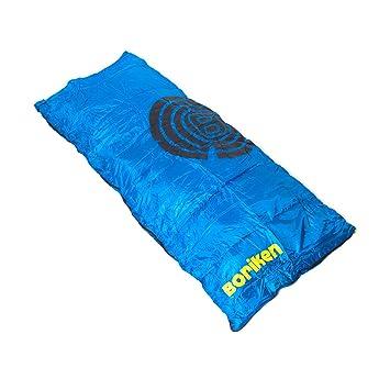 BORIKEN COMFORT PLUS Saco Dormir Azul (Talla: T.U.): Amazon.es: Deportes y aire libre