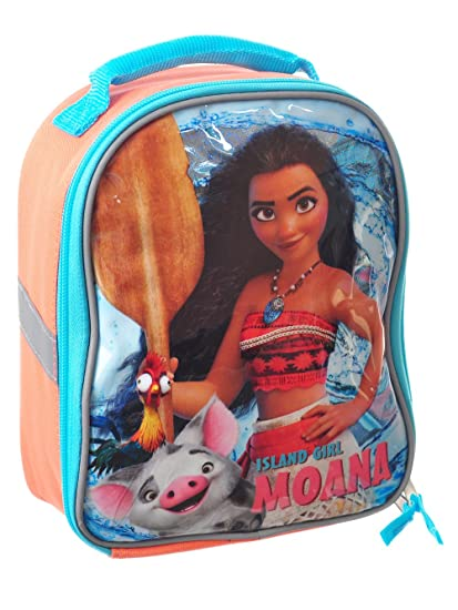 37c53ad2ae51 Moana Lunch Box Soft Kit Insulated Cooler Bag Disney Island Girl