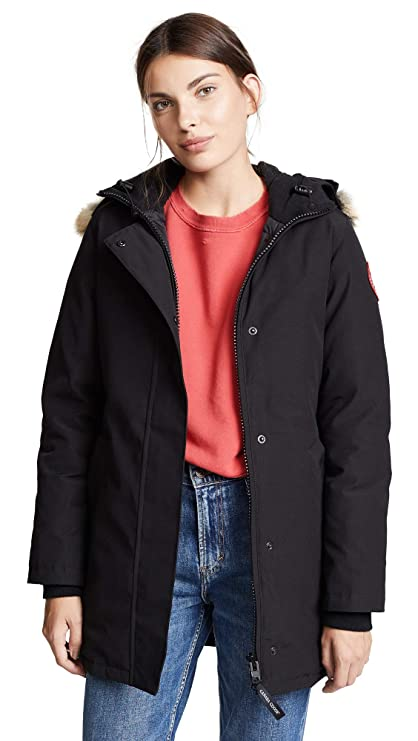 canada goose women's rossclair parka black