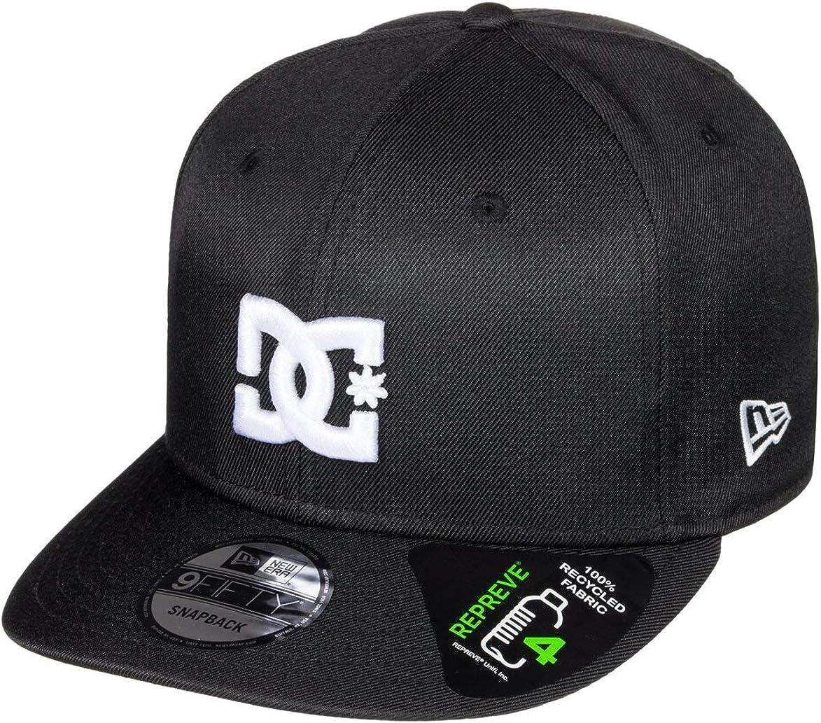 DC Shoes and New Era Mens Snapback Cap ~ Empire Fielder Black
