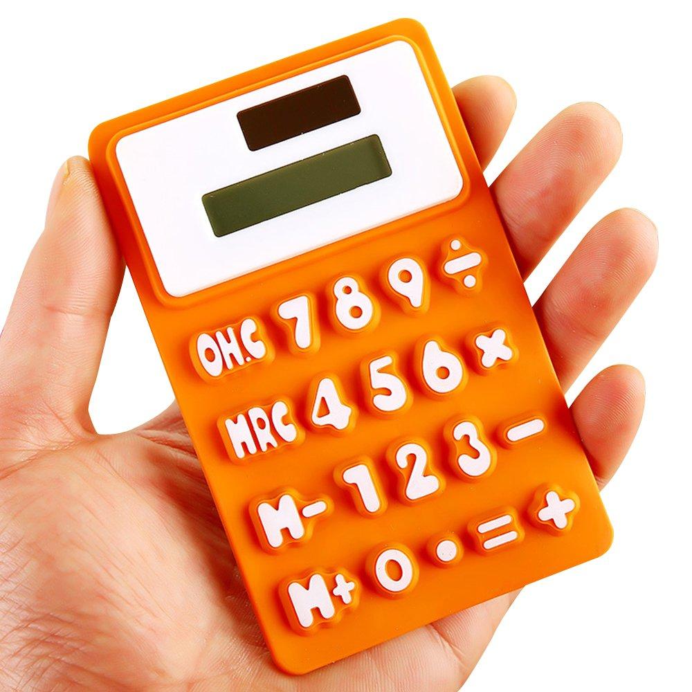 Calculators Financial & Business Solar Powered Soft Lightweight ...