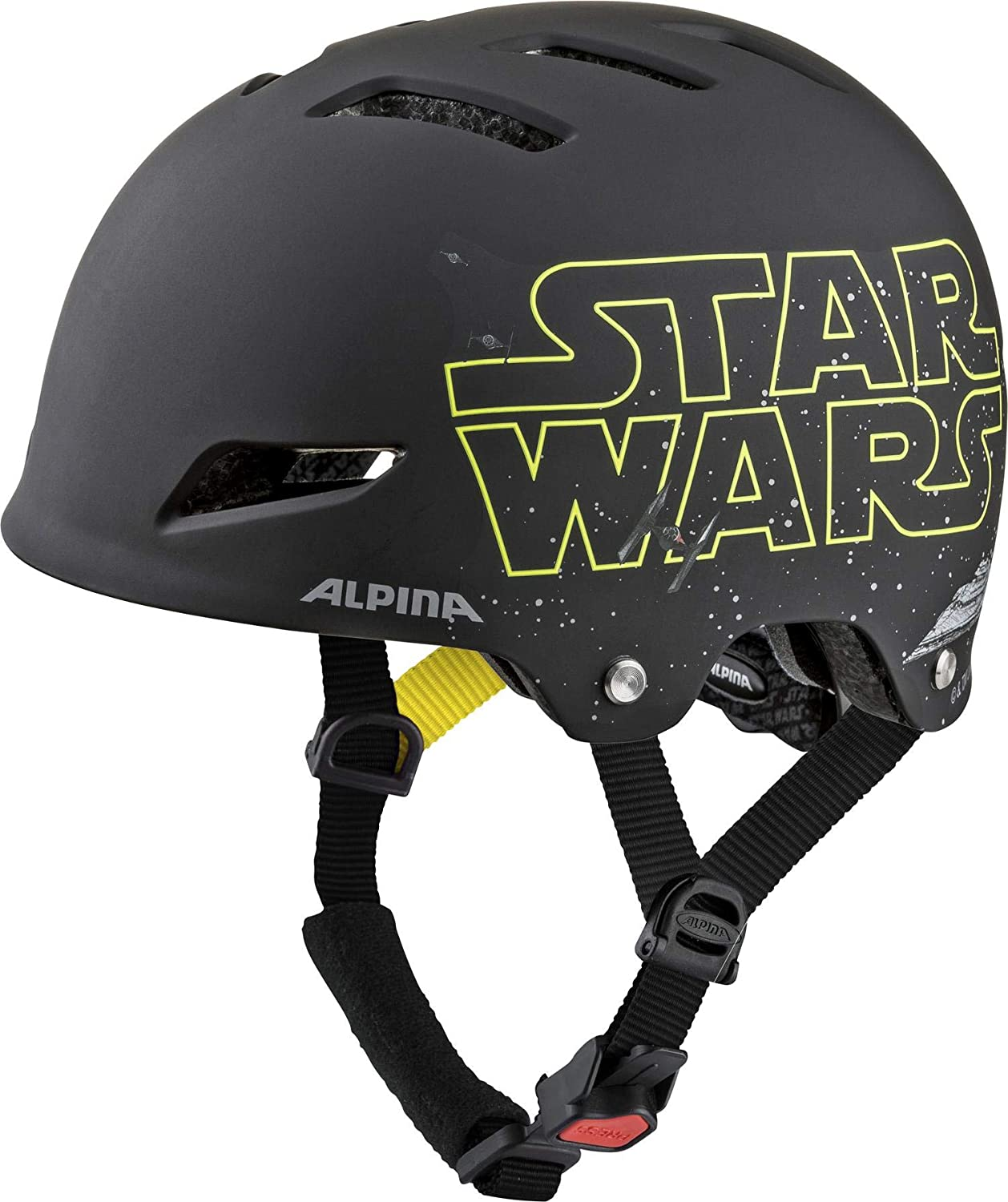 Alpina Park JR Helm 2019 Star Wars//Black