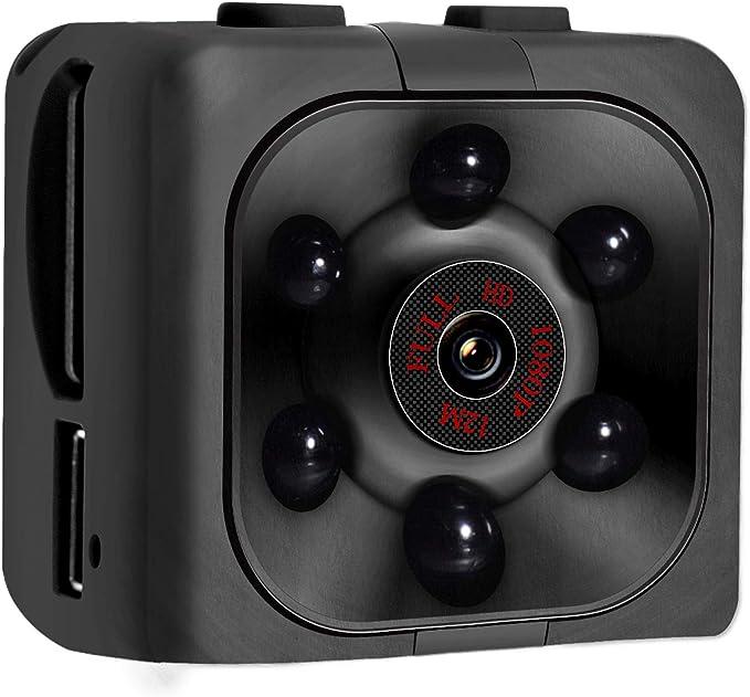 Amazon Com Mini Cámara Espía 1080p Hd Mini Cámara Espía Con Grabación De Audio Y Video Visión Nocturna Detección De Movimiento Sin Necesidad De Wi Fi Camera Photo